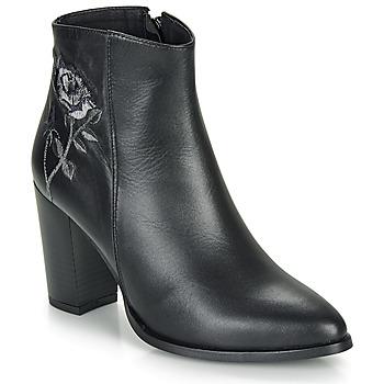 Topánky Ženy Čižmičky So Size BORDELO Čierna