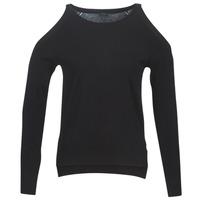 Oblečenie Ženy Svetre Guess CUTOUT Čierna
