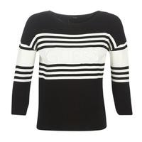 Oblečenie Ženy Svetre Guess VIOLANTE Čierna / Biela