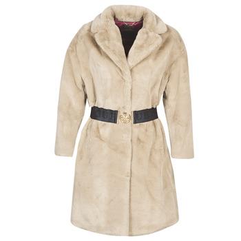 Oblečenie Ženy Kabáty Guess SHELLY Béžová