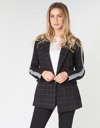 Oblečenie Ženy Kabáty Benetton SUDIDEL Čierna