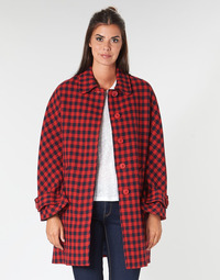 Oblečenie Ženy Kabáty Benetton SIDUDEL Hnedá / Viacfarebná