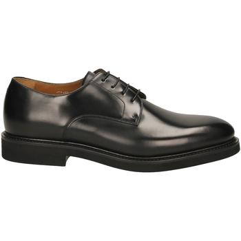 Topánky Muži Derbie Rossi VITELLO CALF nero-nero