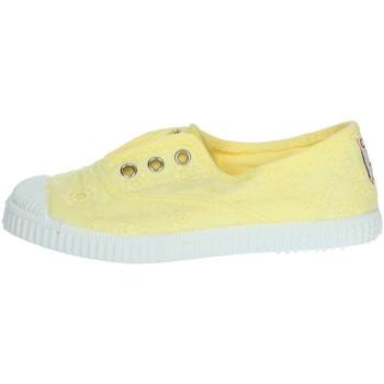Topánky Dievčatá Nízke tenisky Cienta 70998 Yellow