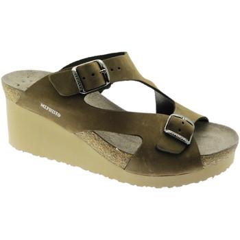 Topánky Ženy Šľapky Mephisto MEPHTERIEma marrone