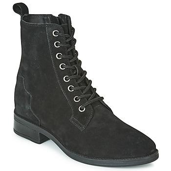Topánky Ženy Polokozačky Esprit CICILY LB Čierna