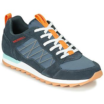 Topánky Muži Nízke tenisky Merrell ALPINE SNEAKER Modrá / Oranžová