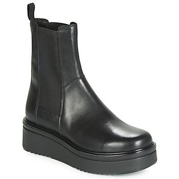 Topánky Ženy Polokozačky Vagabond TARA Čierna