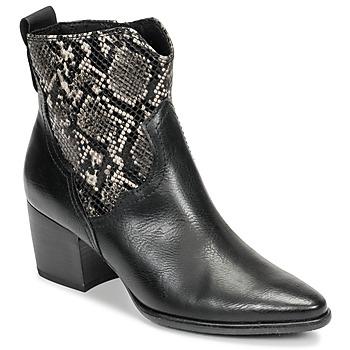 Topánky Ženy Čižmičky Marco Tozzi  Čierna