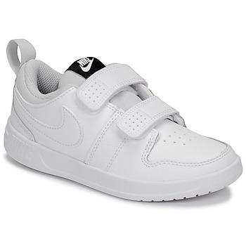 Topánky Deti Nízke tenisky Nike PICO 5 PRE-SCHOOL Biela