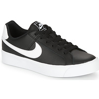 Topánky Ženy Nízke tenisky Nike COURT ROYALE AC W Čierna / Biela