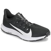 Topánky Muži Bežecká a trailová obuv Nike QUEST 2 Čierna / Biela