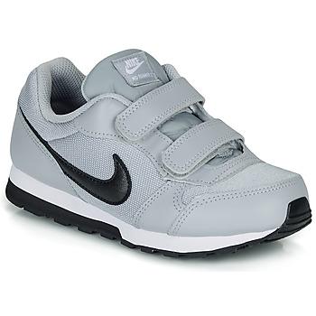 Topánky Deti Nízke tenisky Nike MD RUNNER 2 PRE-SCHOOL Šedá / Čierna