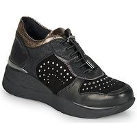 Topánky Ženy Nízke tenisky Stonefly ELETTRA 6 Čierna