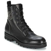 Topánky Muži Polokozačky John Galliano BOOT Čierna