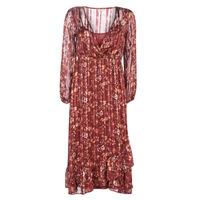 Oblečenie Ženy Dlhé šaty Cream NILA Červená