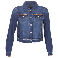 Oblečenie Ženy Džínsové bundy Cream DIWA Modrá
