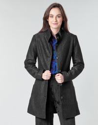 Oblečenie Ženy Kabáty Desigual SIMONE Čierna