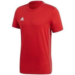 Oblečenie Muži Tričká s krátkym rukávom adidas Originals Core 18 Červená