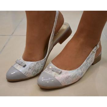 Topánky Ženy Sandále Just Mazzoni Dámske sivé sandále EVELINE sivá