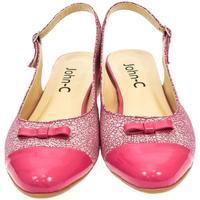 Topánky Ženy Sandále Just Mazzoni Dámske ružové sandále EVELINE cyklamenová