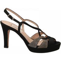 Topánky Ženy Sandále L'amour RASO NIGHT nero-oro