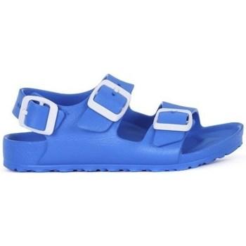Topánky Chlapci Šľapky Birkenstock Milano Kids Eva Modrá