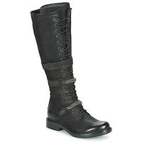 Topánky Ženy Čižmy do mesta Mjus CAFE HIGH Čierna