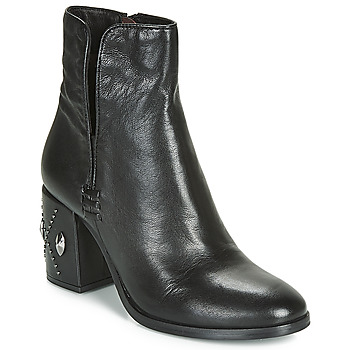 Topánky Ženy Čižmičky Mjus TWISTER METAL Čierna