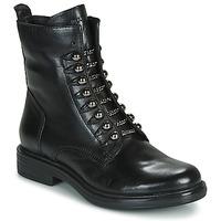 Topánky Ženy Polokozačky Mjus CAFE STYLE Čierna