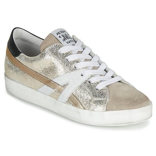 Topánky Ženy Nízke tenisky Meline MEL Zlatá