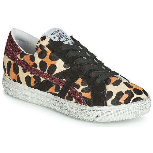 Topánky Ženy Nízke tenisky Meline BORDI Leopard