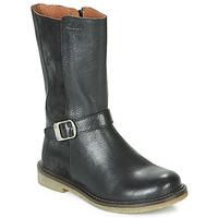 Topánky Dievčatá Čižmy do mesta Aster WALI Čierna