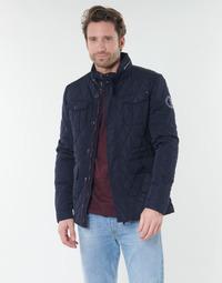 Oblečenie Muži Bundy  Deeluxe BELIEVE Námornícka modrá