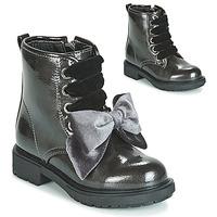 Topánky Dievčatá Polokozačky Gioseppo LEHRE Šedá