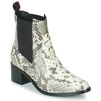Topánky Ženy Čižmičky Gioseppo MIKKELI Čierna / Biela