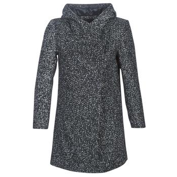Oblečenie Ženy Kabáty Casual Attitude LOUA Šedá / Čierna