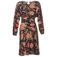 Oblečenie Ženy Krátke šaty Derhy BANQUISE Čierna / Viacfarebná