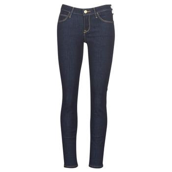 Oblečenie Ženy Džínsy Slim Lee SCARLETT RINSE Modrá