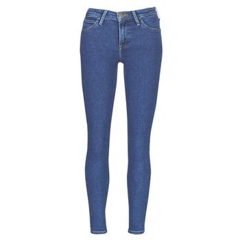 Oblečenie Ženy Džínsy Slim Lee SCARLETT STONE MILTONA Modrá