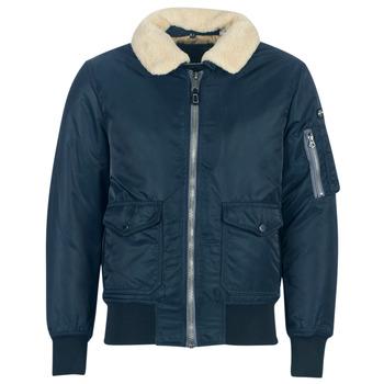 Oblečenie Muži Bundy  Schott OHARA Námornícka modrá