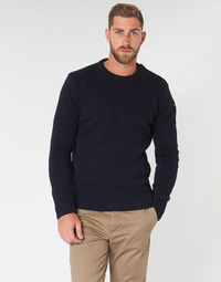 Oblečenie Muži Svetre Schott PLOUTRIDER1 Námornícka modrá