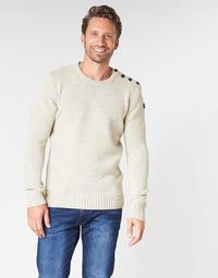 Oblečenie Muži Svetre Schott PLOUTRIDER1 Béžová