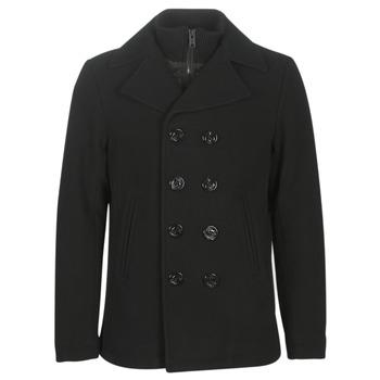 Oblečenie Muži Kabáty Schott CYCLONE3 Čierna