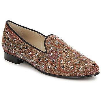 Topánky Ženy Mokasíny Etro BORCHIE Hnedá