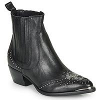Topánky Ženy Čižmičky Ikks BP80075-03 Čierna