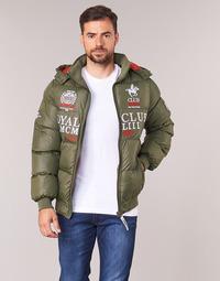 Oblečenie Muži Vyteplené bundy Geographical Norway AVALANCHE-KAKI Kaki