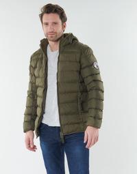 Oblečenie Muži Vyteplené bundy Geographical Norway BALANCE-KAKI Kaki