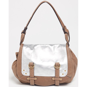 Tašky Ženy Kabelky a tašky cez rameno Abaco Paris MINI JAMILY BICOLORE TAUPE ARGENT