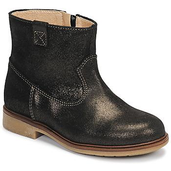 Topánky Dievčatá Polokozačky Pablosky 475157 Bronzová